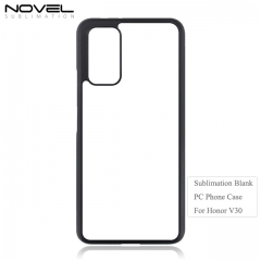 Hot Sales Sublimation Blank 2D Plastic Phone Case For Huawei Honor V30