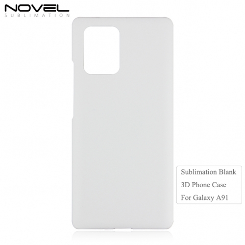 Hot Sales 3D Sublimation Blank Plastic Phone Case For Galaxy A91