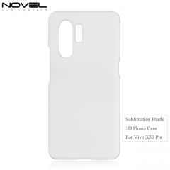 Hot Sales 3D Sublimation Blank PC Phone Case For Vivo X30 Pro