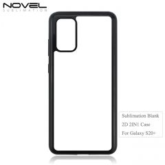 New Arrival 2D 2IN1 Sublimation Blank Phone Case For Galaxy S20+
