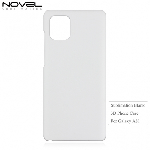 2020 Hot Sales 3D Sublimation Blank Phone Case For Galaxy A81