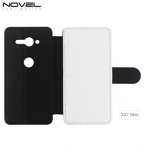 High Quality Custom Blank PU Leather Phone Case For Sony XZ2 MINI