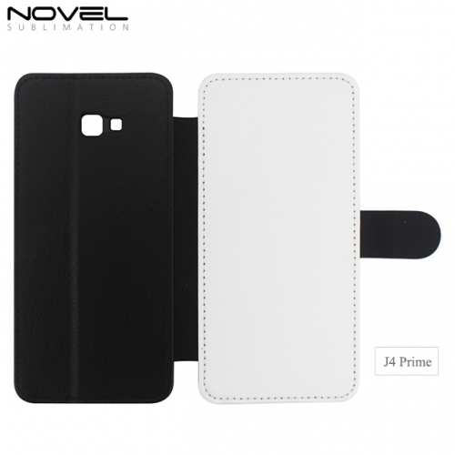 Sublimation Blank 2D PU Leather Wallet For Sam sung Galaxy J4 Prime