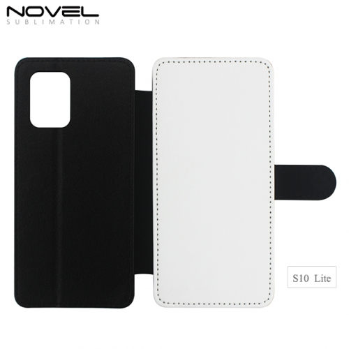 Sublimation Blank 2D PU Leather PC Phone Case For Galaxy A91