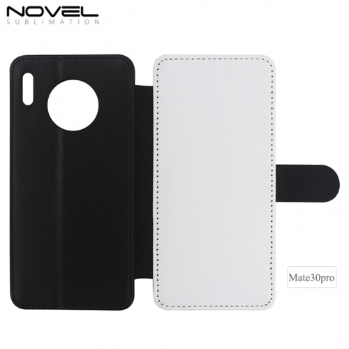 Double Blank Sublimation PU Leather Wallet For Huawei Mate 30 Pro
