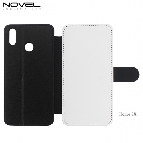 Durable Blank Sublimation PU Leather Wallet  For Huawei Honor 8X