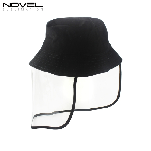 New Arrival Bucket Hat With Face Shield For Adult and Children