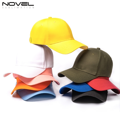 New Arrival High Quality Colorful Baseball Caps