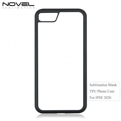 New High Quality 2D Tpu Blank Phone Case For iPhone SE 2020