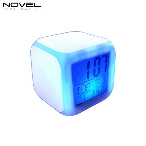 2020 New Arrival Custom Sublimation Blank Clock With Film Plate