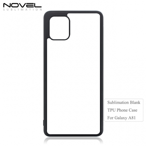Custom 2D Sublimation Blank TPU Phone Case For Sam sung Galaxy A81