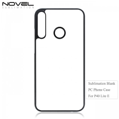 High Quality Sublimation Blank 2D PC Phone Case For Huawei P40 Lite E