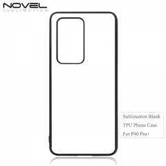New Blank Sublimation 2D Soft Rubber Phone Case For Huawei P40 Pro Plus