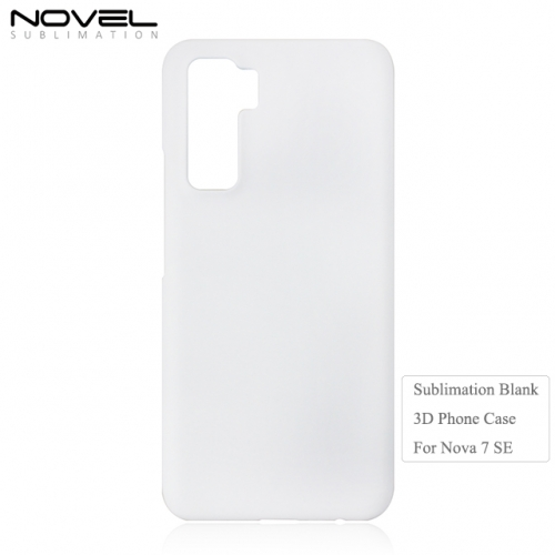 Hot Selling Blank Sublimation 3D PC Phone Case For Huawei Nova 7SE