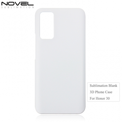 Custom Sublimation 3D PC  Blank Phone Case For Huawei Honor 30
