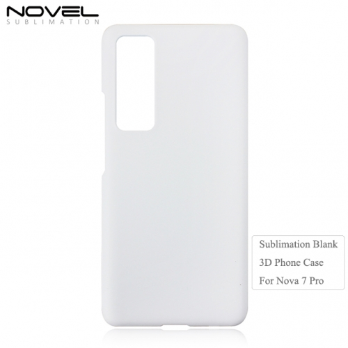 High Quality 3D Sublimation Blank PC Phone Case For Huawei Nova 7 Pro