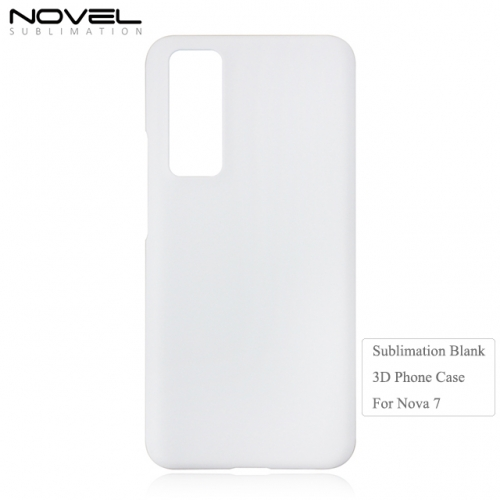 2020 3D Printing Sublimation Blank PC Phone Case For Huawei Nova 7