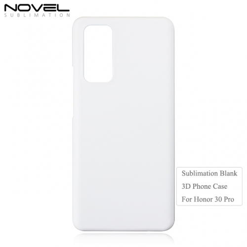 Custom Blank Sublimation 3D PC Phone Case For Huawei Honor 30s