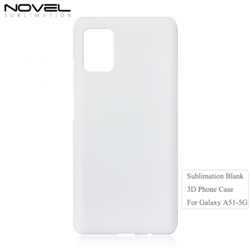 2020 New 3D Sublimation Blank PC Phone Case For Sam sung A51-5G
