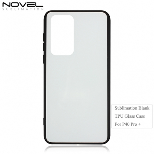 High Quality 2D Blank TPU Glass Phone Case for Huawei P40 Pro Plus