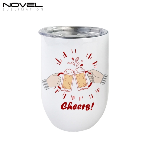 Custom Printed New Style Sublimation Stainless Steel Egg Bottle