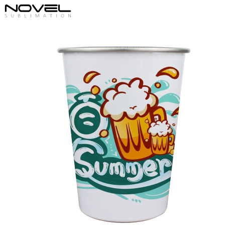 Customized Blank Sublimation 18oz Conic Stainless Steel Mug