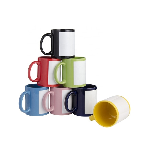 Coatings Personalized Sublimation 11 oz Ceramic Full Color Coffee Mugs