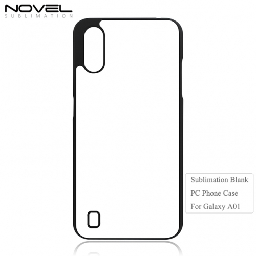 Nwe Arrival Sublimation 2D Blank Plastic Phone Case For Sam sung A01