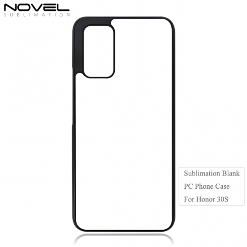 Newly Sublimation Blank 2D PC Phone Case For Huawei Honor 30S