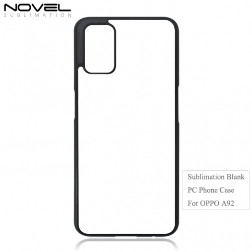HIgh Quality Sublimation Blank 2D PC Phone Case For OPPO A92