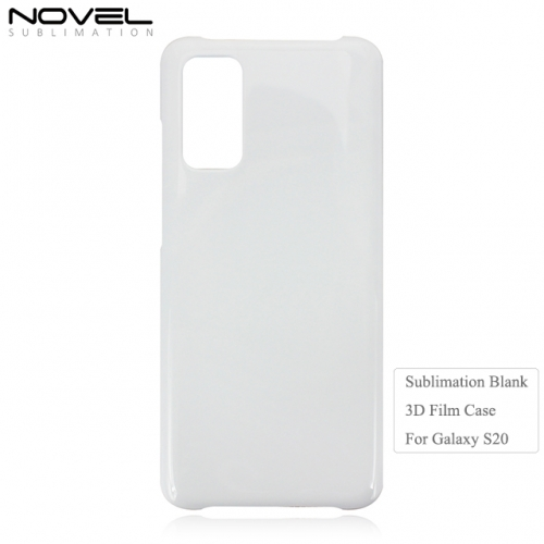 New Arrival 3D Sublimation Blank Film Phone Cover for Galaxy S20