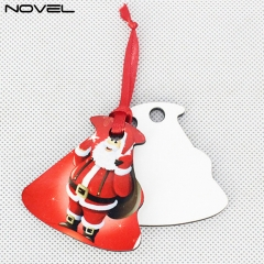 Blank Fashionable Sublimation 3mm Double side MDF Ornaments