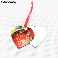 Factory Wholesales Blank Sublimation 3mm Double side MDF Ornaments