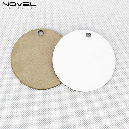 High Quality  Fashion Sublimation Blank 3mm MDF Ornaments