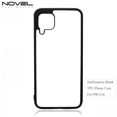 HIgh Quality Sublimation Blank 2D Soft Rubber Case For Huawei P40 Lite