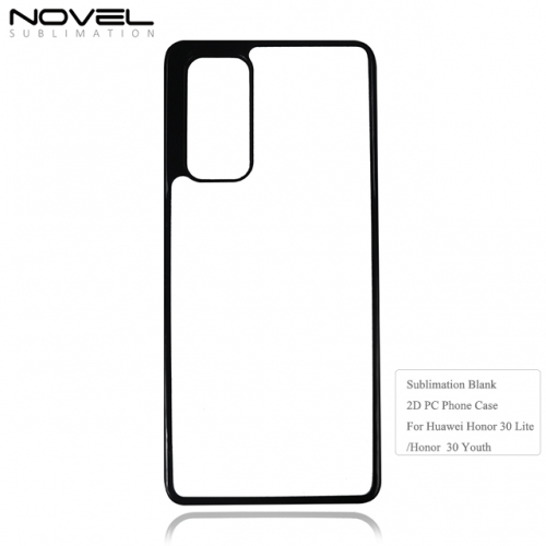 2020 New Arrival Sublimation Blank 2D PC Phone Case For Huawei Honor 30 Youth