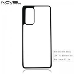 Highly Protective Sublimation Blank 2D Soft Rubber Back Phone Cover For Huawei 30 lite