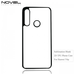 New Wave Sublimation Blank 2D Soft Rubber Case For Huawei Y6p