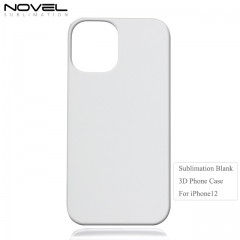Customized Sublimation Blank 3D Plastic Phone Case for iPhone 12