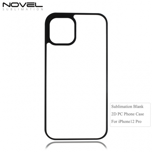 New Arrival Custom Sublimation Blank 2D PC Cell Phone Case For iPhone 12 Pro