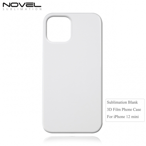 New Arrival Fashion Blank Sublimation 3D Film Phone Case For iPhone 12