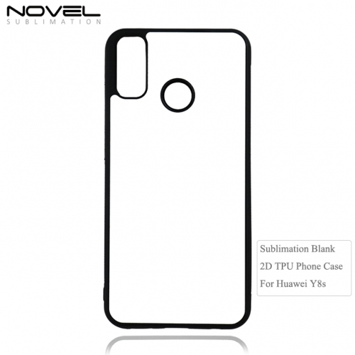 Custom Sublimation Blank 2D Soft Rubber Case For Huawei Y8s