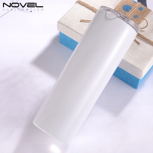 HOT-SALE White Custom Printing 20oz Stainless Steel Straw Cup