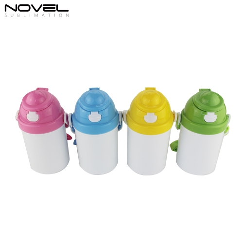 Polymer Mugs Sublimation 3D Printing Kid Water Bottle 400ml