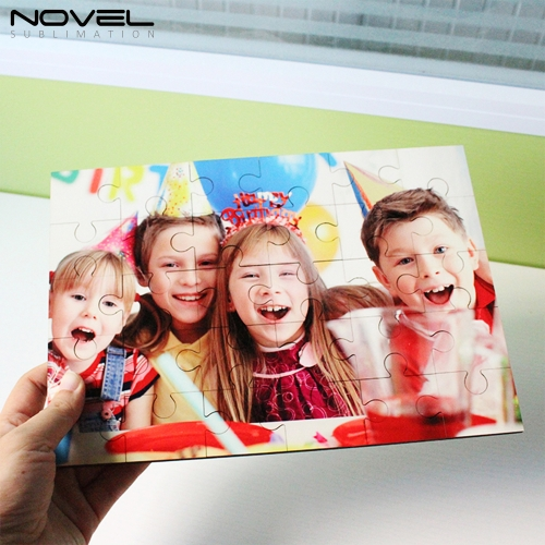 DIY Sublimation Blank MDF Puzzle 30pcs
