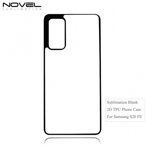 2D Sublimation Blank TPU Phone Case for Sam sung S20 FE