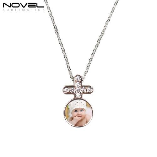 Sublimation Blank Chain Necklace Girl Jewelry