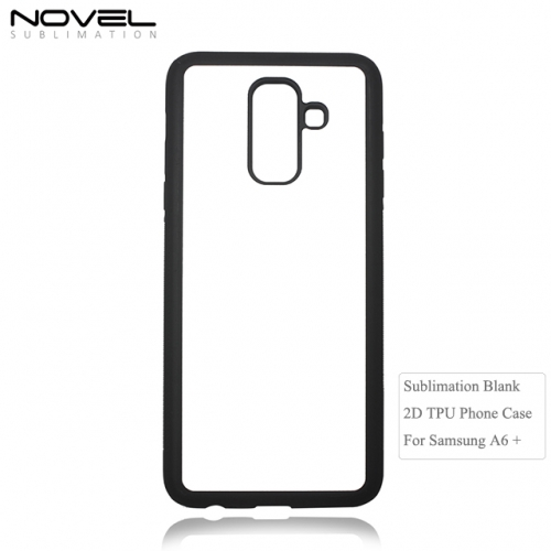 2D Phone Case for Sublimation Blank TPU Phone Case For Sam sung Galaxy A6+