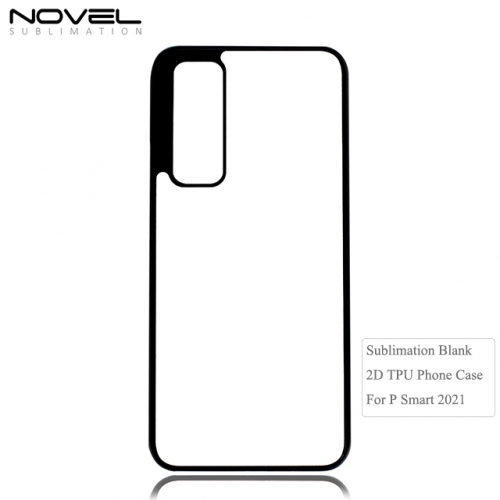 Highly Protective Blank 2D Tpu Phone Case For Huawei P Smart 2021