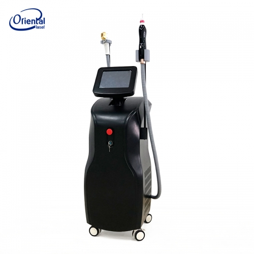 Soma 2 in 1 machine Triple wavelength 1200w laser hair removal and Yag laser for tattoo removal